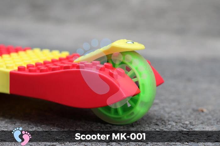 mẫu xe scooter 3 bánh mk-001
