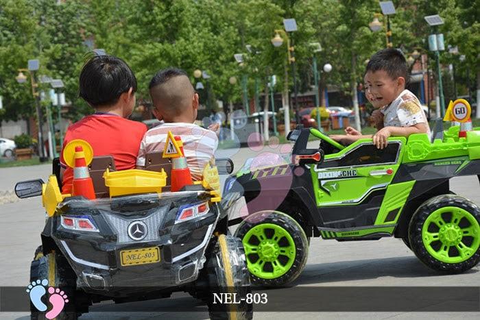 ô tô điện địa hình cho bé nel-803