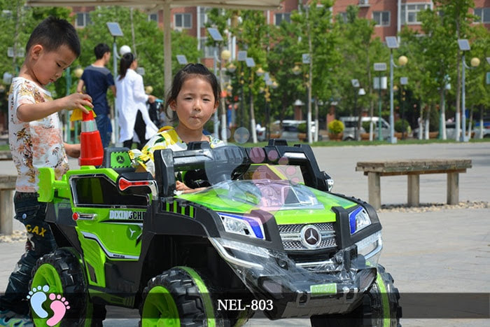 xe hơi điện cho bé nel-803 dòng xe địa hình