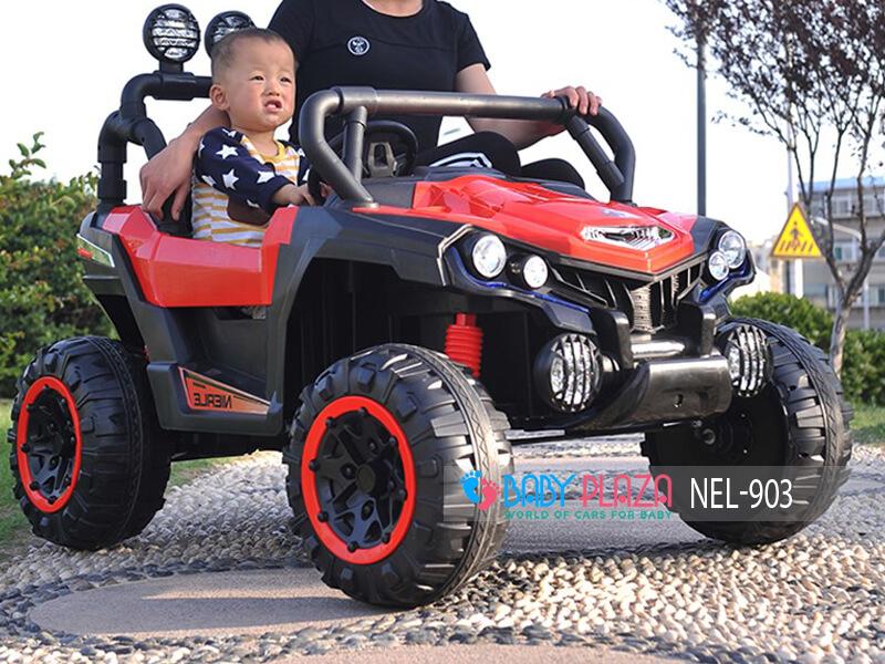 oto địa hình chạy điện 4 động cơ cho bé NEL-903