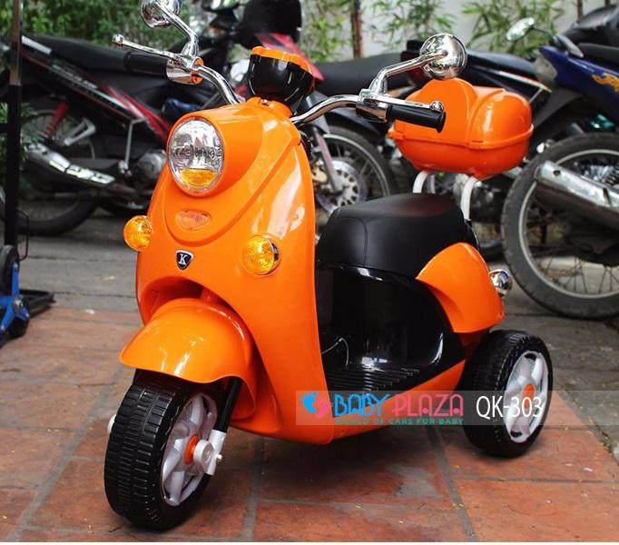 xe máy điện cho bé qk-303