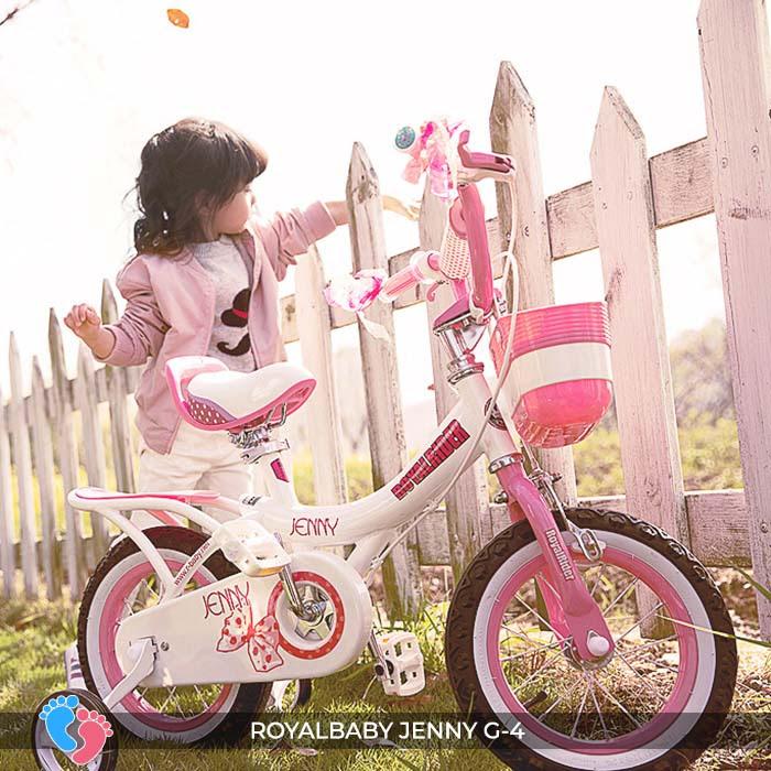 xe đạp cho bé gái royababy G4