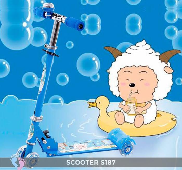 Xe trượt Scooter 4 bánh S187