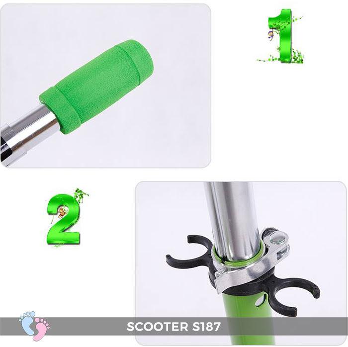 Xe Scooter 4 bánh cho bé S187
