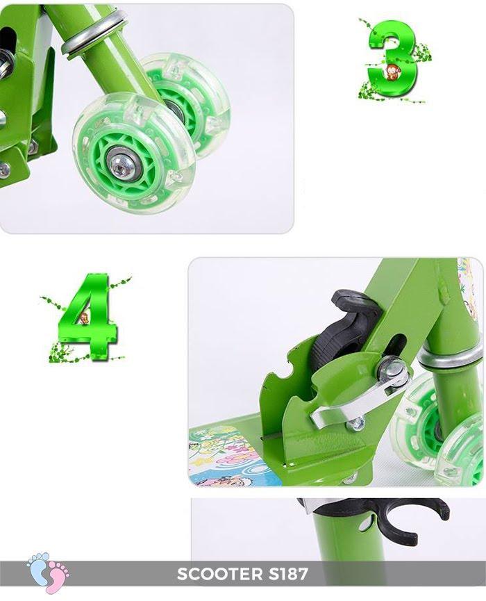 Xe trượt 4 bánh cho trẻ em S187