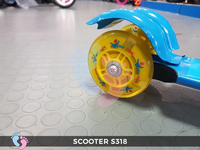 Xe trượt  loại 3 bánh của trẻ em S318
