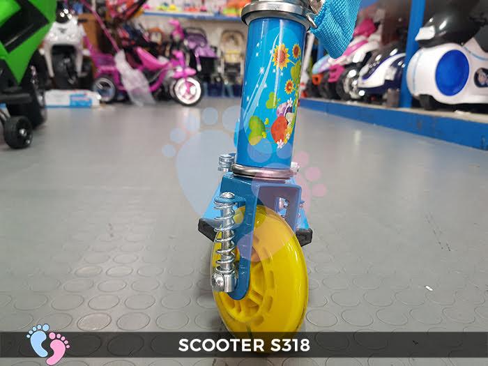 Xe trượt của trẻ em loại 3 bánh S318