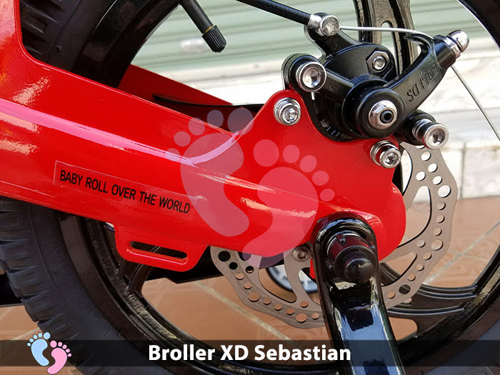 Xe đạp Broller XD Sebastian (JZ)
