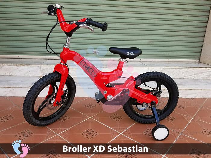 xe đạp cho bé sebastian