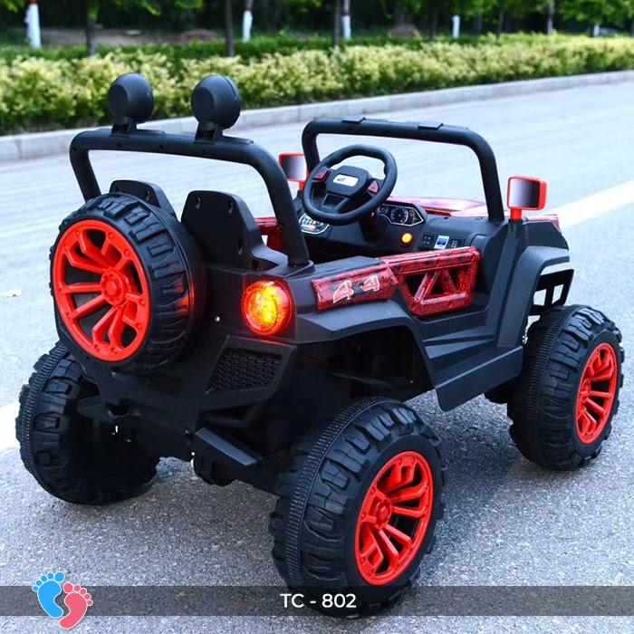 xe ô tô điện cho trẻ em Tc08