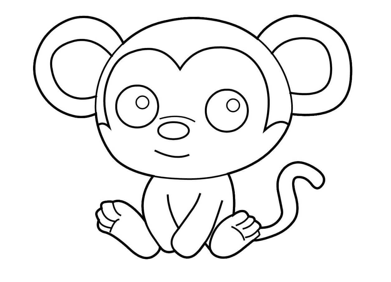 hình tô màu con chuột
