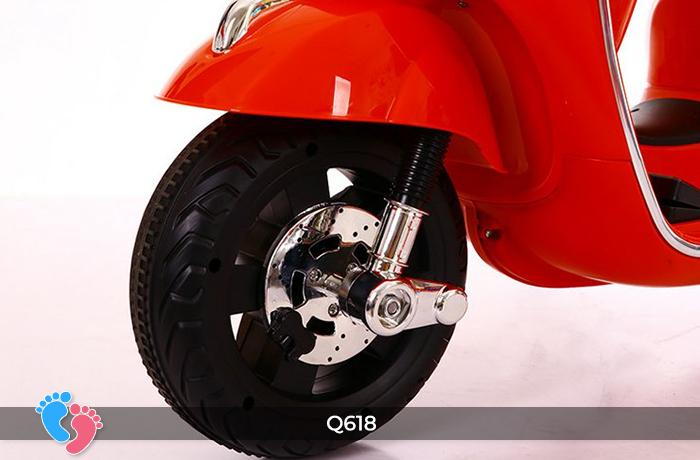 xe máy điện trẻ em q618