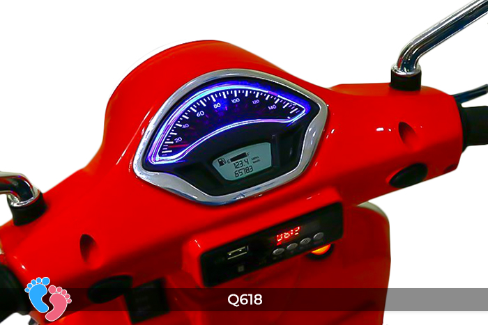xe điện cho bé điện cho bé q618