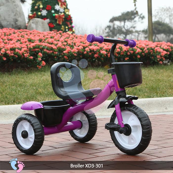 xe đạp 3 bánh có giở đựng đồ phía sau