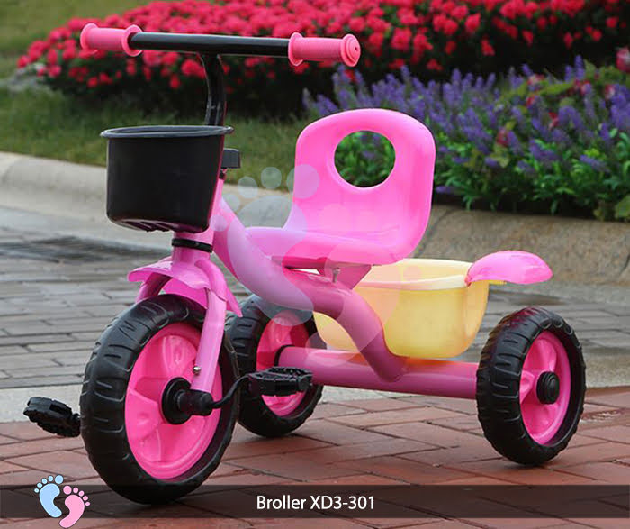 xe đạp 3 bánh cho bé có gỏ đựng đồ