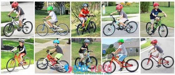 chọn size xe đạp