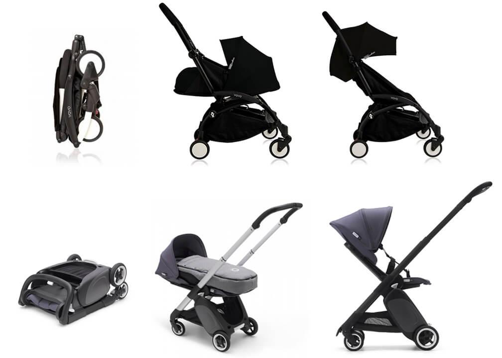 các loại xe cho bé từ 0 đến 36 tháng tuổi