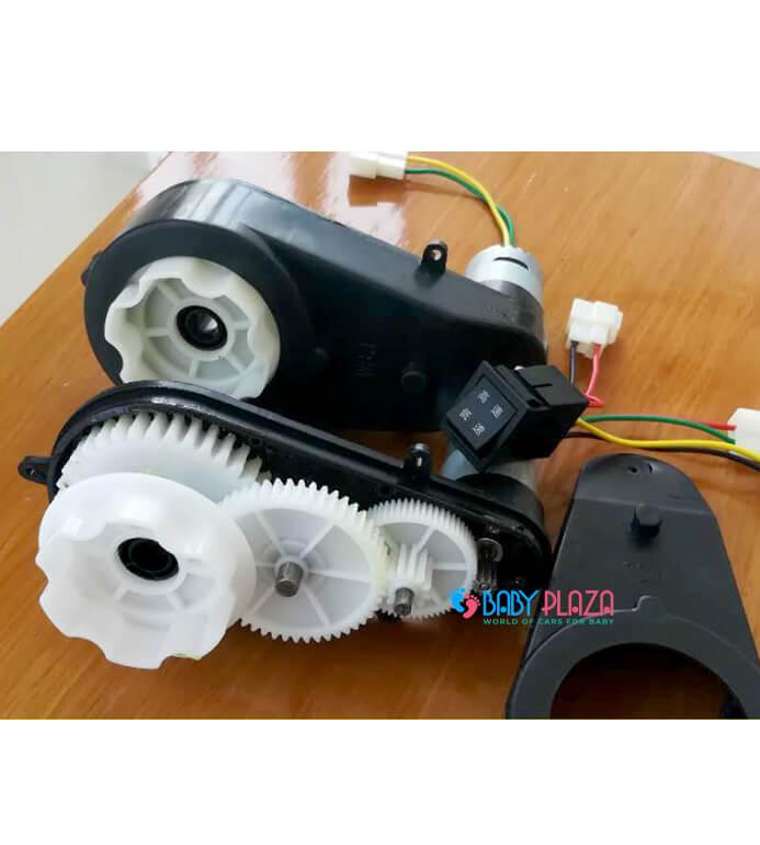 cấu tạo của motor xe điện trẻ em