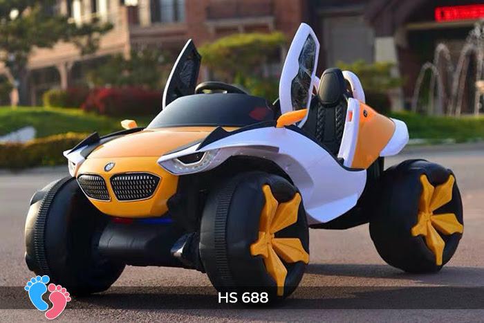 ô tô điện trẻ em thể thao xjl-688