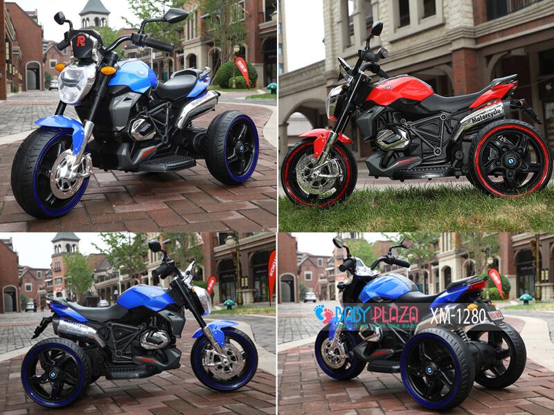 xe máy điện ba bánh cho bé xm1280