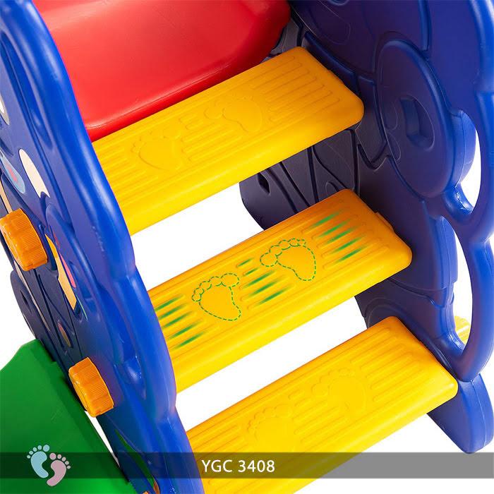 bộ cầu trượt xích đu trẻ em YGC-3408