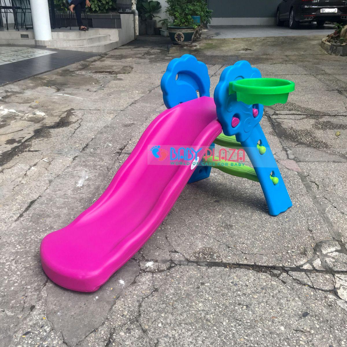 cầu trượt đơn tại nhà cho bé ygc-3512