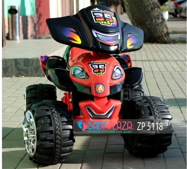 xe mô tô điện 4 bánh cho bé Zp-5118
