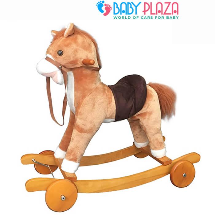 xe ngựa bập bênh cho bé