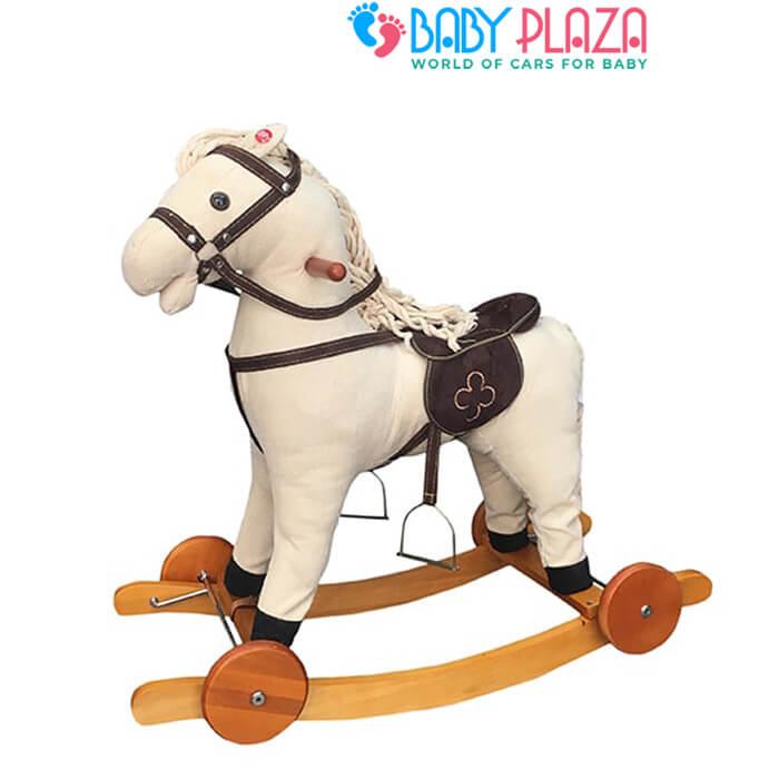 ngựa bập bập bênh cho bé