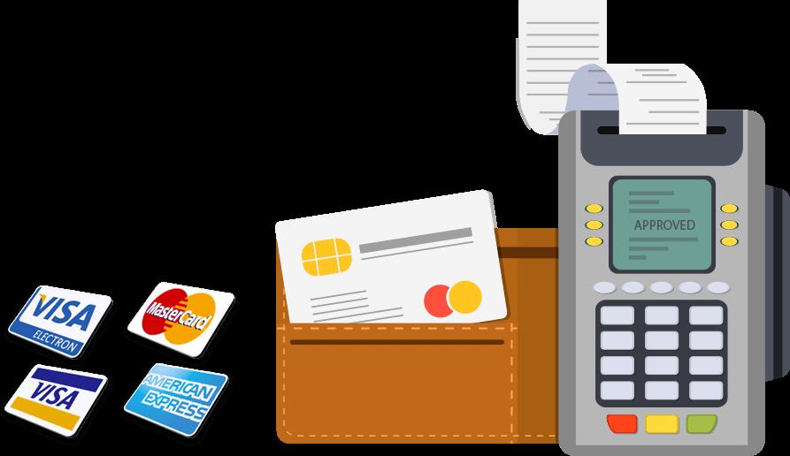 hình thức thanh toán quẹt thẻ